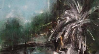 Landscape acrylic painting 2