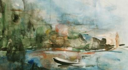 Landscape acrylic painting 7