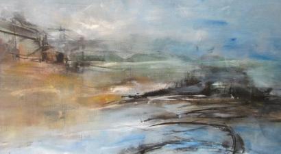 Landscape acrylic painting 5