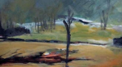 Landscape acrylic painting 6