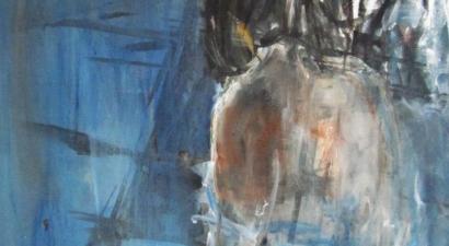 Acrylic figure painting 2