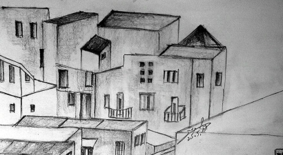 Town sketch 3