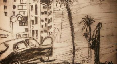 Town sketch 2